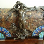 A beautiful Art Nouveau box.