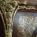 Intricate nature-inspired decoration.
